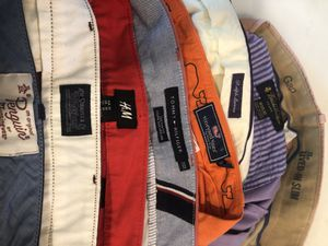 Colored Men Pants : Polo Vineyard brooks brothers penguin Tommy Hill figure Gap H&M for Sale in Houston, TX