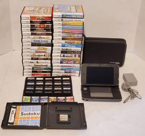 Blue&Black Nintendo 3DS XL with 56 DS/3DS Games. 300 CASH for Sale in St. Petersburg, FL