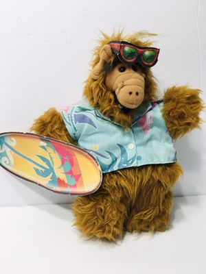 """Hawaiian Alf Plush Puppet With Glasses 1988 12"""" Collectible Burger King VTG for Sale in Brandon, FL"""