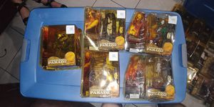 Clive Barkers THE INFERNAL PARADE action figures.. Packaging damaged but new sealed...$20 each.. Thanks!!🙏🏼 for Sale in Miami, FL