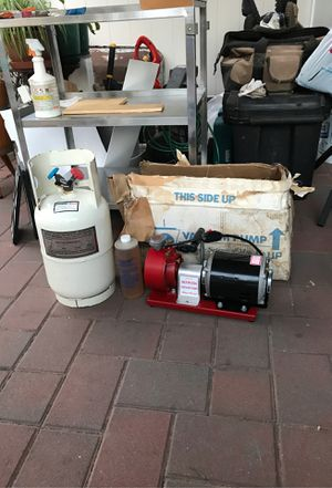 Blue point ACTR1234 A/C vacuum pump and tank for Sale in Queens, NY