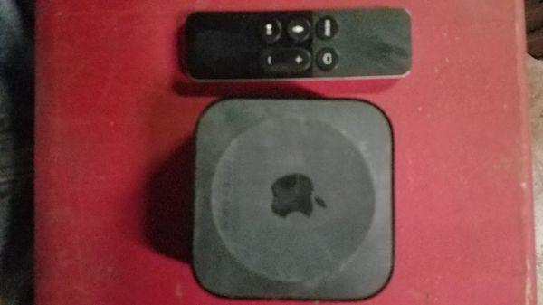 Apple tv fourth gen.