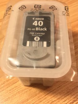 Canon PG 40 Black Ink Cartridge for Sale in Los Angeles,  CA