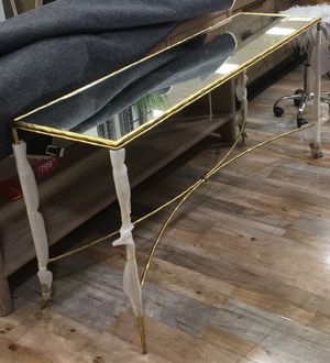 Brand New Evesham Metal Console Table for Sale in Houston, TX
