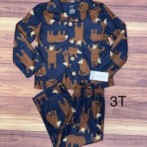 New Boy Button Up Pajamas 3T for Sale in Long Beach, CA