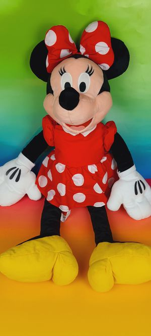Disney Minnie Mouse 32 Inch Plush Toy for Sale in Santa Ana, CA