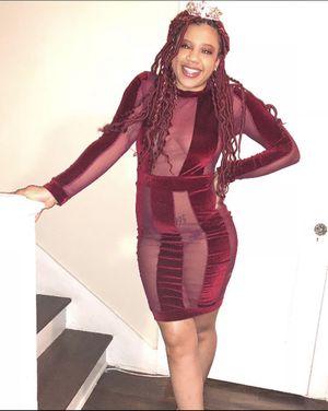 Deep Red sheer dress for Sale in Chandler, AZ