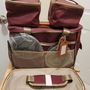 Houndy! Dog's Travel Bag Edition 2. Upgraded Large Stylish Waterproof Waxed Ca for Sale in Everett, WA