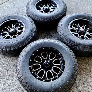 Wheels & tires. 6x5.5 or 6x139.7 for Sale in Tukwila, WA