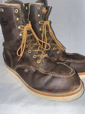 Men preowned Thorogood soft toe boot size 10.5 2e for Sale in San Diego, CA