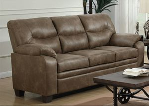 Meagan microfiber sofa for Sale in San Leandro, CA