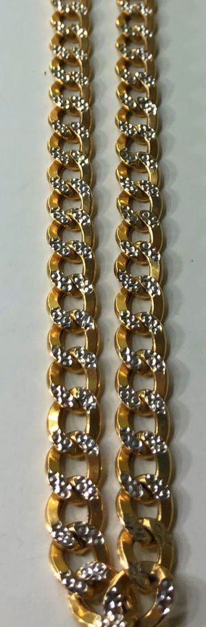 Gold 10k Cuban links chain Jewelry for Sale in South Gate, CA