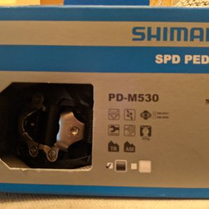 Shimano PD-M530 pedals for Sale in Bethesda, MD