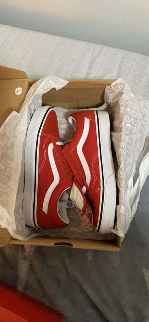 Vans Old Skool Racing Red/True White Unisex for Sale in Portland, OR