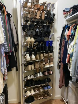 Over door shoe rack for Sale in San Francisco, CA