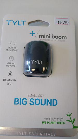 TYLT + MINI BOOM PORTABLE BLUETOOTH SPEAKER for Sale in Weston, WI