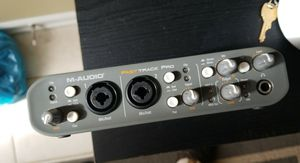 Audio equipment MAudio fast track pro for Sale in Chantilly, VA
