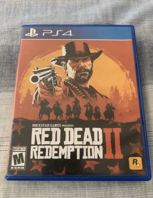 Red Dead Redemption 2 PS4 for Sale in Glendale, AZ