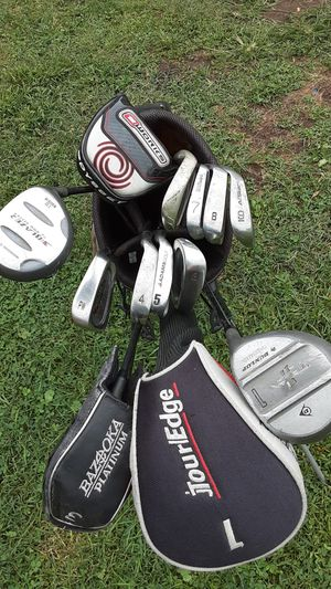 Set of golf clubs with golf bag for Sale in Hannibal, MO