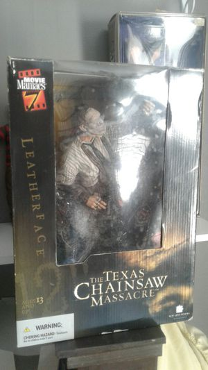 Leather Face figure for Sale in Allentown, PA
