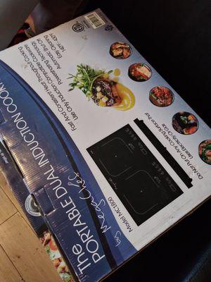Stufas eletricas mega chef de dos kemadores chingonas chingonas de lujo con entrada normal for Sale in Los Angeles, CA
