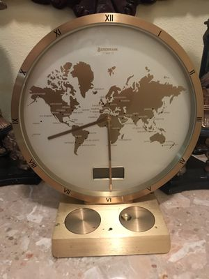 Antique World clock for Sale in Carlsbad, CA