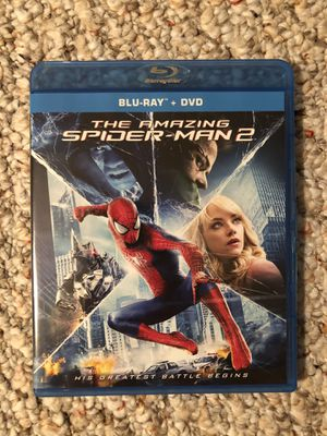 The Amazing Spiderman 2 blu-ray dvd for Sale in Webster, NY
