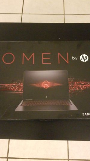 HP OMEN gaming laptop. for Sale in Tampa, FL