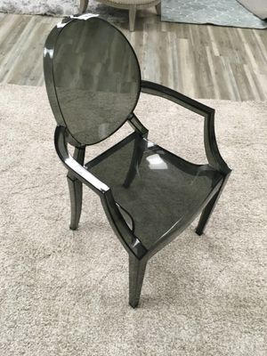 Ghost Dining Chair Dark Smoke Color for Sale in Des Plaines, IL