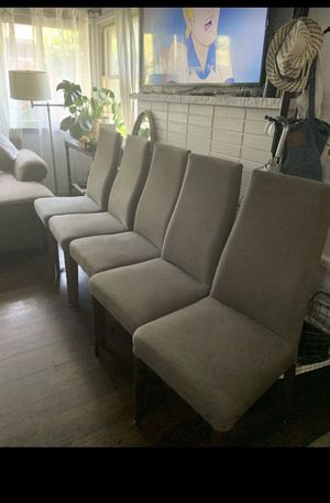 Danias Lisa chairs, set of 5 for Sale in Seattle, WA