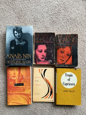 Anais Nin, Henry Miller books for Sale in Baltimore, MD