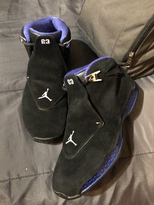 Jordans 18 royal blue retro for Sale in Houston, TX