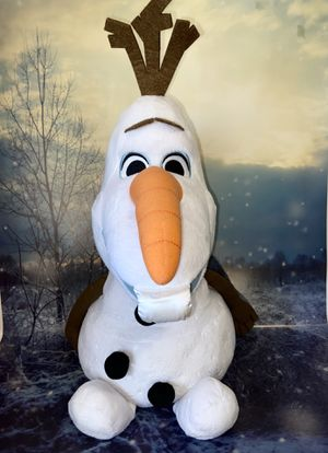 """Jumbo Disney Frozen Olaf approximately 20"""" Plush toy. for Sale in Long Beach, CA"""