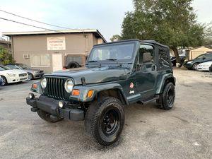 2002 Jeep Wrangler for Sale in Tampa, FL