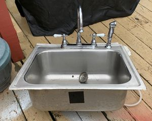 Stainless steel sink for Sale in Raynham, MA