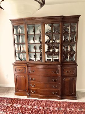 Antique China Cabinet for Sale in Fairfax, VA