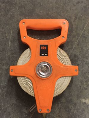 100 foot measuring tape for Sale in Lynnwood, WA