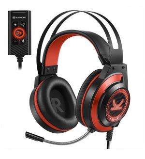 VANKYO CM7000 Pro Gaming Headset PS4 headset with 7.1 Surround Sound Stereo Xbox One Headset, Gaming Headphones with Noise Canceling Mic & Memory Foa for Sale in Montebello, CA