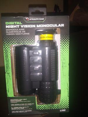 Stealth Cam Night Vision Monocular for Sale in Brandon, FL
