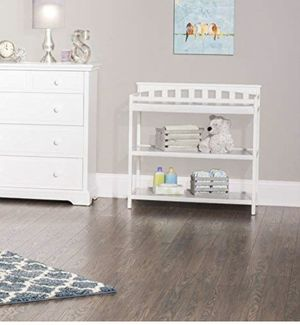 Baby nursery furniture changing table shelves for Sale in Pompano Beach, FL