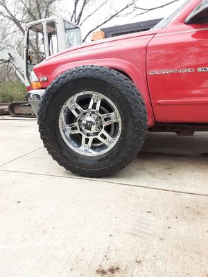 XD 18in 8 bolt rims for Sale in Des Moines, IA