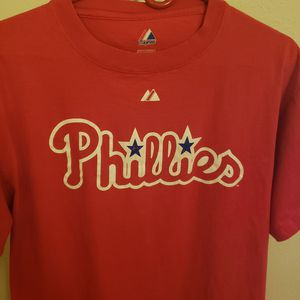 Philadelphia Phillies Chase Utley Tshirt for Sale in St. Petersburg, FL