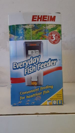 EHEIM everyday fish feeder for Sale in Spring Valley, CA
