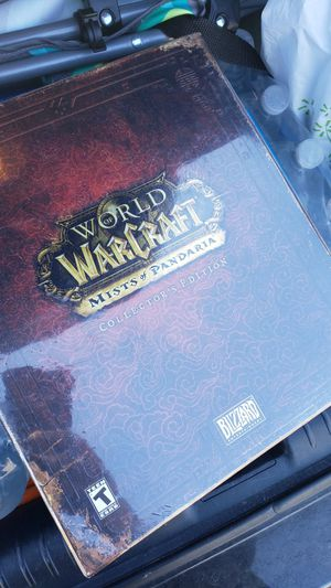 World of warcraft mists of pandaria collectors edition for Sale in Sacramento, CA