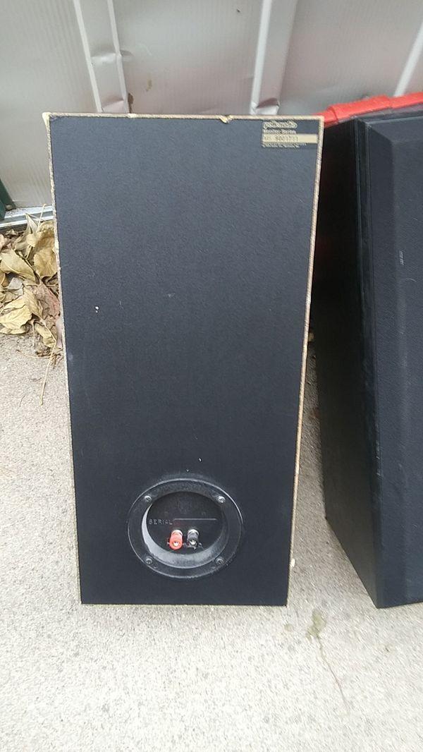 Polk audio monitor series