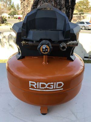 RIDGID 6 Gal. Portable Electric Pancake Air Compressor for Sale in Fontana, CA