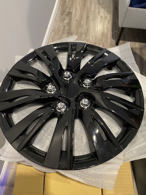 "15"" Rim covers Glass Black"
