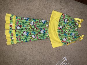 Hello Kitty handmade pants set - brand new Size 4/5 for Sale in Haltom City, TX
