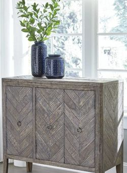 Boyerville Antique Gray Accent Cabinet by Ashley for Sale in Arlington,  VA