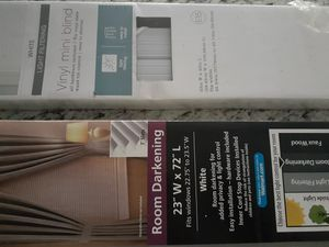 2 mini blinds for Sale in Tampa, FL